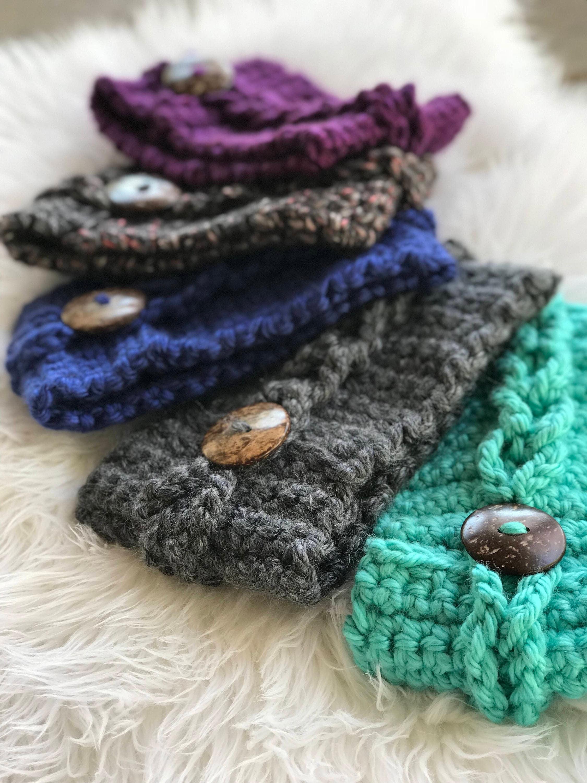 Crochet headband pattern earwarmer pattern bulky headwrap easy this is a digital file bankloansurffo Choice Image