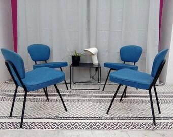 Modernist chairs design 50s vintage