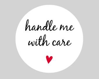 handle with care etsy. Black Bedroom Furniture Sets. Home Design Ideas
