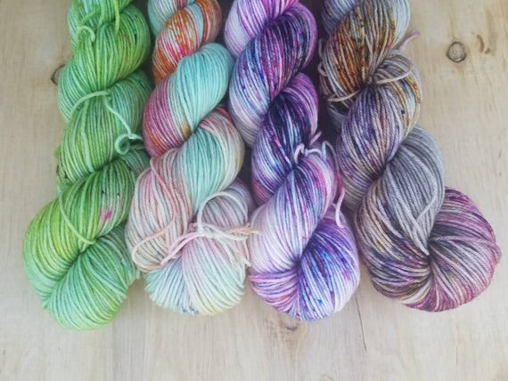 Hashtage Summer of 2017 Mini Set- Everyday - Superwash Merino Nylon - 460 yards