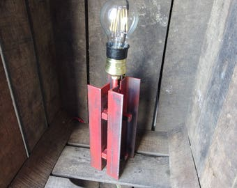 Industrial lamp on frame part 2