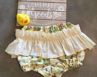 Frilly Baby Girl Diaper Cover