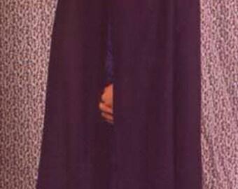 Cotton cloak