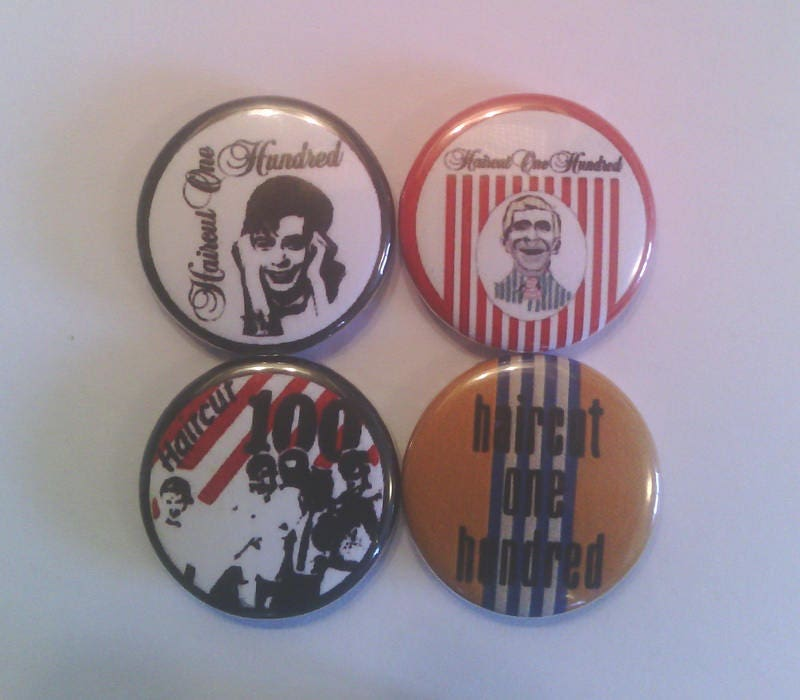 4 X Haircut One Hundred 1 Pin Button Badges Haircut 100 New Wave