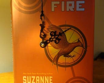 Catching Fire Book Clock