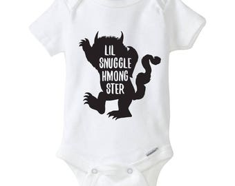 Lil Snuggle Hmongster Onesies