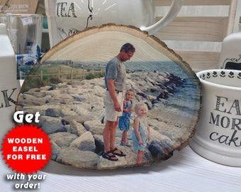 Christmas Gifts For Grandpa, Photo On Wood, Christmas Gifts For Grandparents, Christmas Gifts For Girlfriend, Nana Christmas