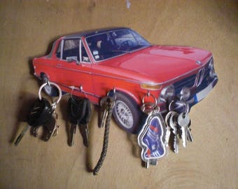 BMW 2002 hook key/bmw 2002 keychain