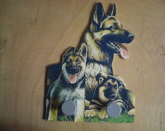 GERMAN SHEPHERD DOG COAT HANGER