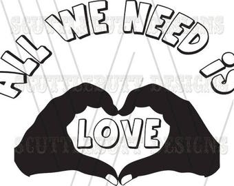 All we need is Love Design