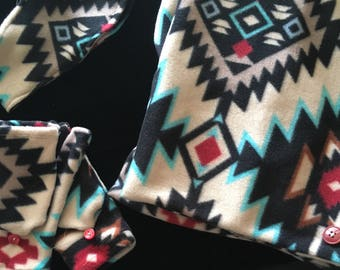 Cowl scarf set