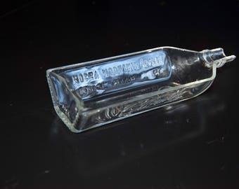 Cigar Tray from Re-purposed Tincup Mountain Whiskey Bottle