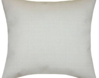 Sunbrella Linen Natural Indoor/Outdoor Pillow