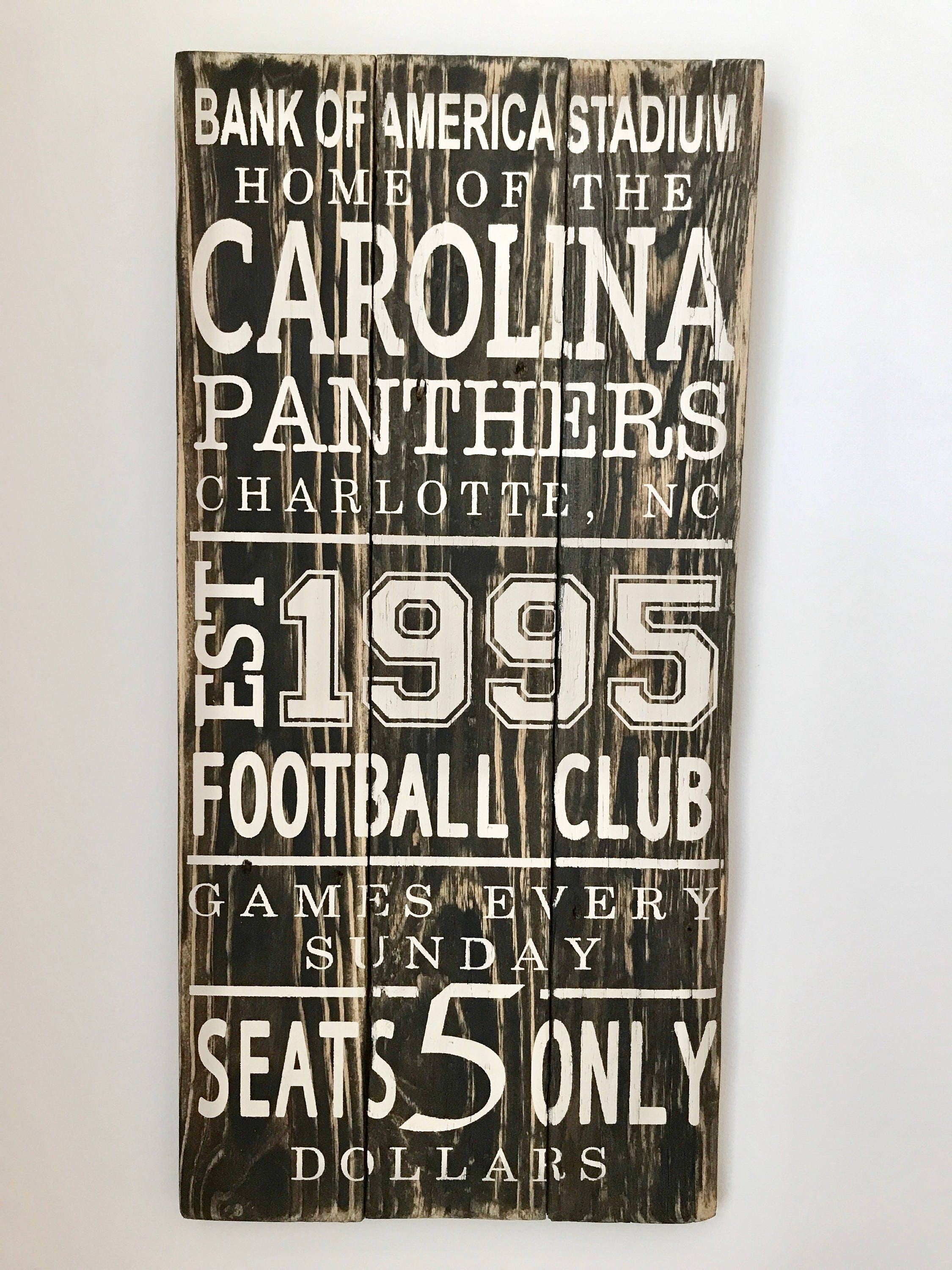 Football Fan Gift, Subway Sign, Man Cave Sign, Gifts for Dad ...