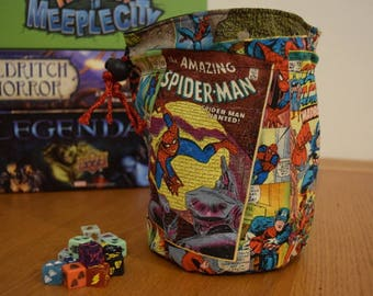 Marvel Retro Comic Dice Bag