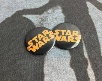 "Star Wars 1.25"" Buttons set of 2"