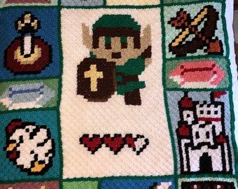 Zelda Crochet Afghan / blanket