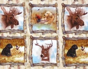 Patchwork preshrunk 6 miniature animals