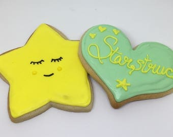 Star Struck  Cookies Dozen