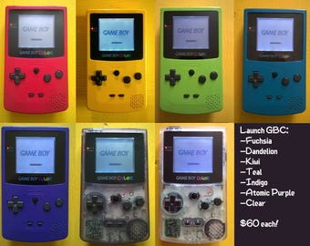 Game Boy Horror/Color Frontlight Mod - YOU Design It!