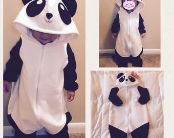 Panda Baby Halloween Costume