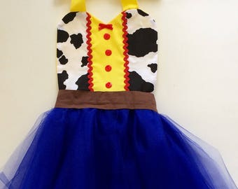 TOY STORY COSTUME | Jessie Costume | Toy Story Dress | Jessie Dress | Toy Story Birthday Party | Jessie Birthday | Tutu Costume