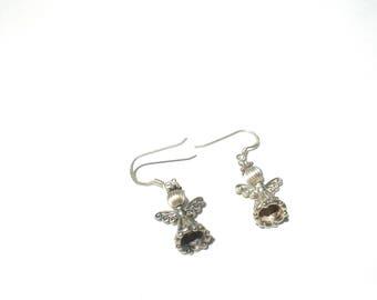 Angel 925 Pierced Earrings