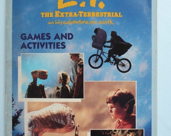 E.T. The Extra-Terrestrial Games and Activity Book 1982