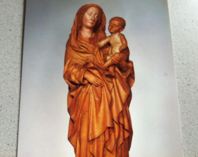 Vintage Religion Church Maria mit Kind Postcard Maria Photo