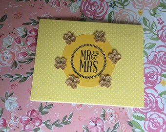 Wedding Card- Mr and Mrs