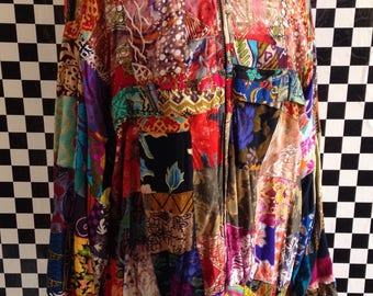 Reversible 90s Crazy Print Coat - 16
