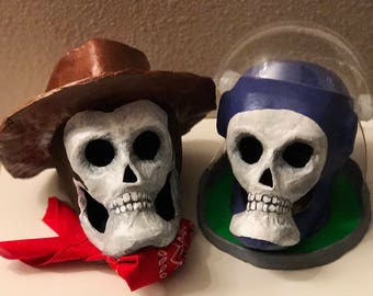 Woody & Buzz Skulls