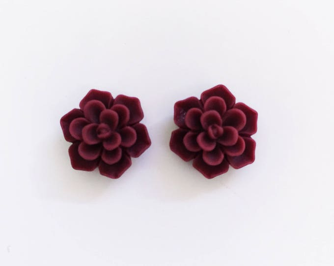 The 'Kate' Flower Earring Studs