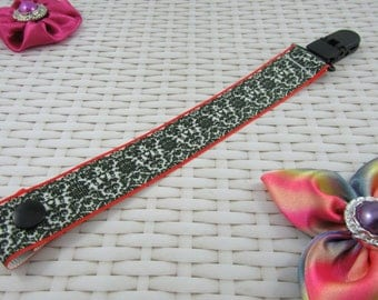 Dummy Clip / Pacifier Strap - Patterned