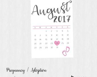 Pregnancy / Adoption Announcement Printable