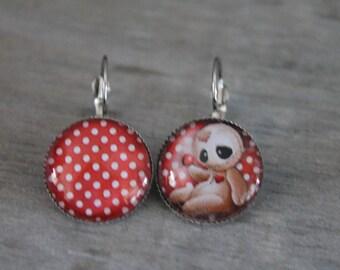 Baby voodoo - Stud Earrings in silver tone metal.