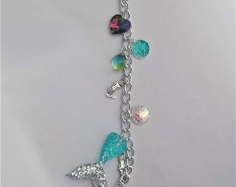 Mermaid Planner Charm// Bag Charm// Purse Charm