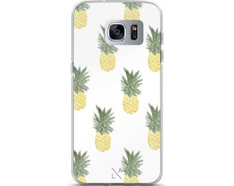 Pineapple Samsung Galaxy S7, Galaxy S7 Edge, Galaxy S8, Galaxy S8+ Phone Case