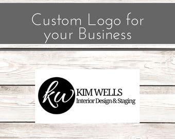 Business Logo Modern Interior Design Custom