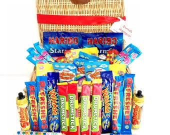 The Retro Sweet Hamper - Perfect Gift for all Occasions - Chocolate Hamper