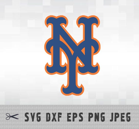 new york mets svg png dxf logo layered vector cut file silhouette