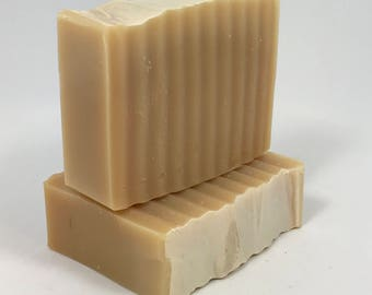 Pure Milk - Organic Goats Milk Soap - Fragrance Free - Luxury Bar Soap - Eczema Soap - Bath and Beauty - Natural Soap - All Natural