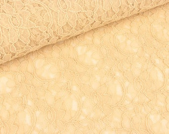 Lace champagne with bow edge (14.90 EUR/meter)