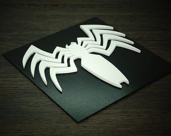 Superhero Venom, Wall art, Kids bedroom wall art