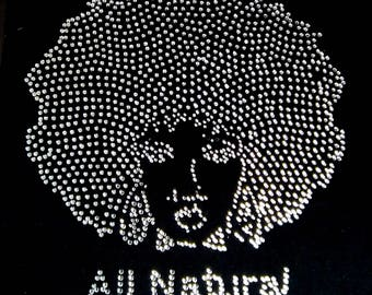 All Natural Afro Bling Tee