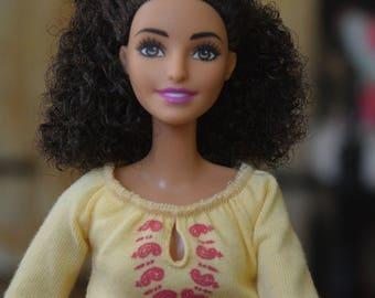 Jamie- BarbME Natural Hair Representation for Children Mixed Girl Ethnic Dolls Afro