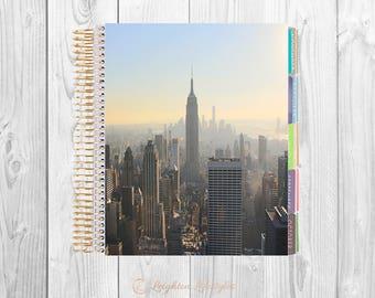 New York City Skyline Planner Cover | Erin Condren Life Planner Cover | Happy Planner | Digital Print | DIGITAL DOWNLOAD Image | PNG File