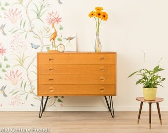 Denmark, 50's, vintage, 60s chest of drawers, sideboard (503003)