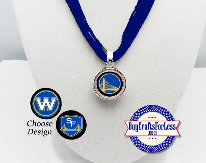 GOLDEN STaTE WARRiORS PENDANT, 3 Designs +FREE SHiPPING & DiSCOUNTS *