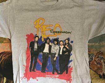 Vintage Reo Speedwagon tshirt